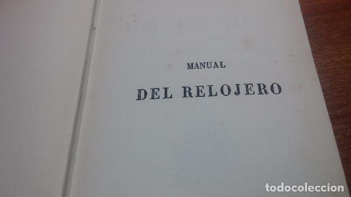 Herramientas de relojes: Dos pedazos de libros históricos para los amantes y aficionados al reloj, y al arte de reparlos - Foto 26 - 73722571