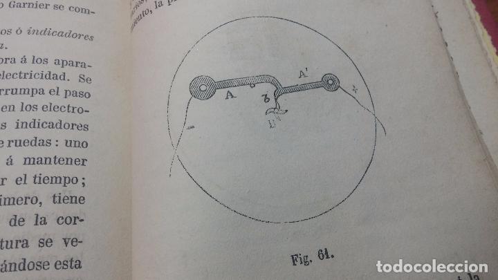 Herramientas de relojes: Dos pedazos de libros históricos para los amantes y aficionados al reloj, y al arte de reparlos - Foto 38 - 73722571