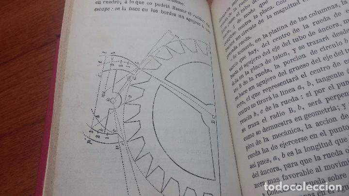 Herramientas de relojes: Dos pedazos de libros históricos para los amantes y aficionados al reloj, y al arte de reparlos - Foto 41 - 73722571