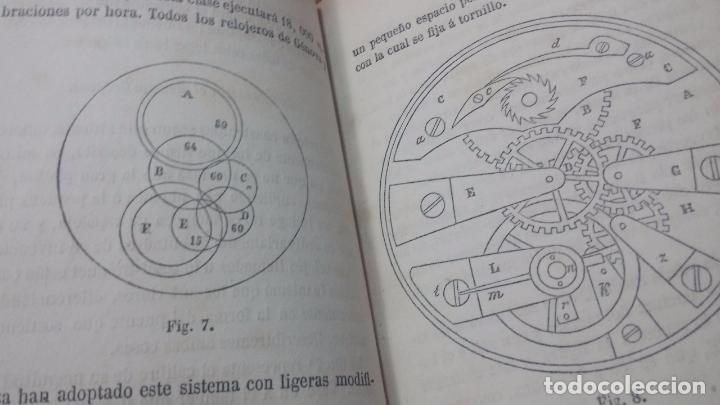 Herramientas de relojes: Dos pedazos de libros históricos para los amantes y aficionados al reloj, y al arte de reparlos - Foto 46 - 73722571