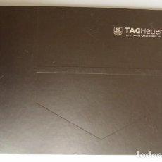 Herramientas de relojes: CATALOGO ORIGINAL DE RELOJES TAG HEUER..2008..143 PAGS.HISTORIA DE LA CASA-MODELOS-FOTOS.... Lote 83510404
