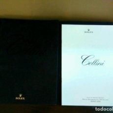 Herramientas de relojes: CATALOGO Y LISTA DE PRECIOS ROLEX CELLINI MARZO 2008. Lote 84099008