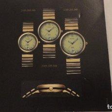 Outils d'horloger: CATALOGO RELOJES MDM.THORR.GENEVE.TEXTO EN ESPAÑOL.. Lote 86577640