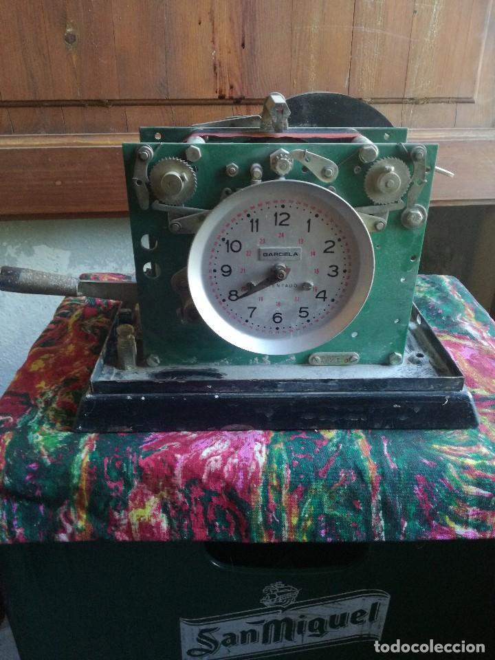 Herramientas de relojes: RELOJ INDUSTRIAL GARDELA - FICHAR . - Foto 2 - 87702384