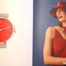 Herramientas de relojes: EXCEPCIONAL CATALOGO DE RELOJES DE LUJO NOMOS, 32 PAG... Lote 87713896