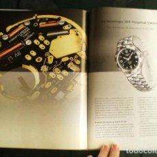 Herramientas de relojes: LONGINES. CATÁLOGO GENERAL 2001 + CD DE USO INTERNO. COMO NUEVO.. Lote 87947584
