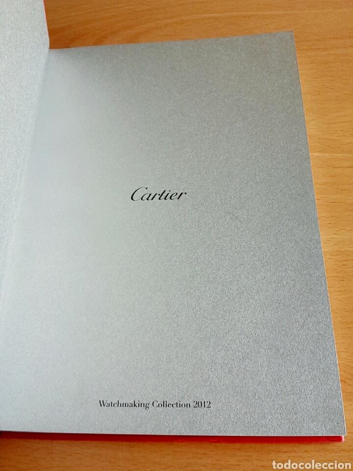Herramientas de relojes: Catálogo reloj Cartier - Watchmaking Collection 2012 - Foto 4 - 90978605