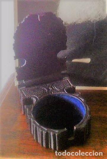 CAJA EN MADERA SELVA NEGRA - ALEMANIA - ANTIGUA! - PARA RELOJ DE BOLSILLO (Relojes - Herramientas y Útiles de Relojero )