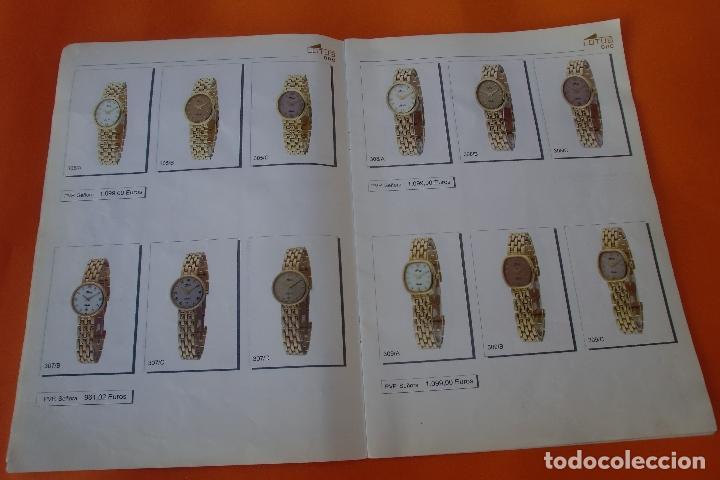 Herramientas de relojes: RELOJ LOTUS ORO CATALOGO 20 PAGINAS - Foto 2 - 97520983