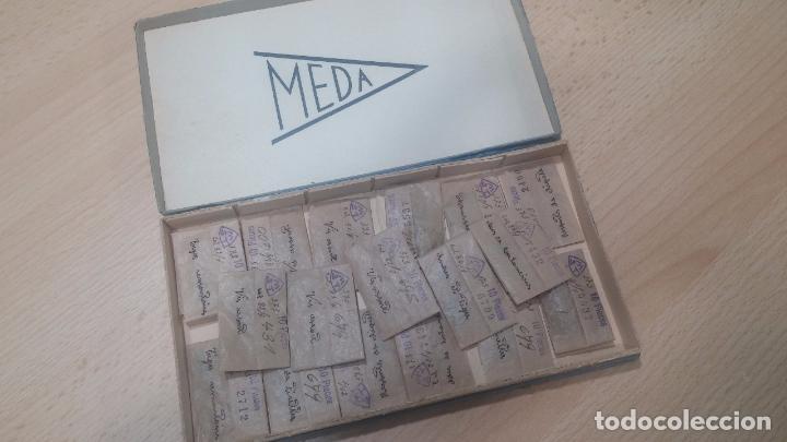 Herramientas de relojes: Muy botita caja de piezas de reloj o relojes, con recambios muy antiques, letras escritas con pluma - Foto 8 - 99319699