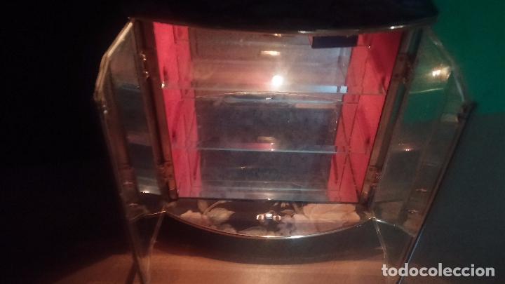 Herramientas de relojes: Botita caja vitrina expositora con luz para guardar reloj relojes o lo que se quiera - Foto 8 - 99891335