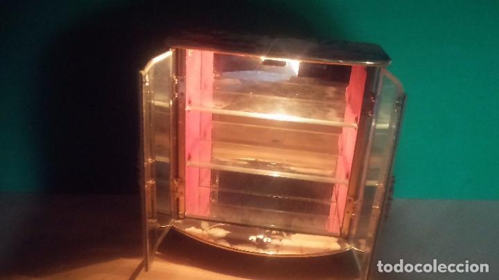 Herramientas de relojes: Botita caja vitrina expositora con luz para guardar reloj relojes o lo que se quiera - Foto 9 - 99891335