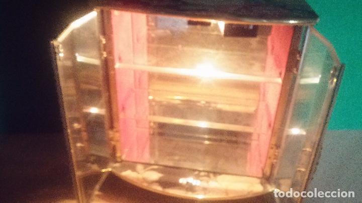 Herramientas de relojes: Botita caja vitrina expositora con luz para guardar reloj relojes o lo que se quiera - Foto 10 - 99891335