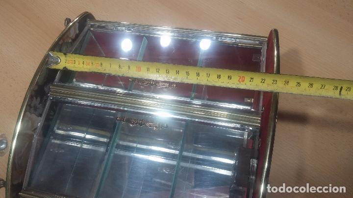 Herramientas de relojes: Botita caja vitrina expositora con luz para guardar reloj relojes o lo que se quiera - Foto 35 - 99891335