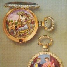 Herramientas de relojes: ROLEX,LIBRO COLECCION DE RELOJES DE BOLSILLO DE SU FUNDADOR HANS WILSDORF,1944,SOLO 900,RELOJ LUJO. Lote 99982547