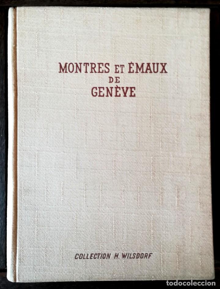 Herramientas de relojes: ROLEX,LIBRO COLECCION DE RELOJES DE BOLSILLO DE SU FUNDADOR HANS WILSDORF,1944,SOLO 900,RELOJ LUJO - Foto 2 - 99982547