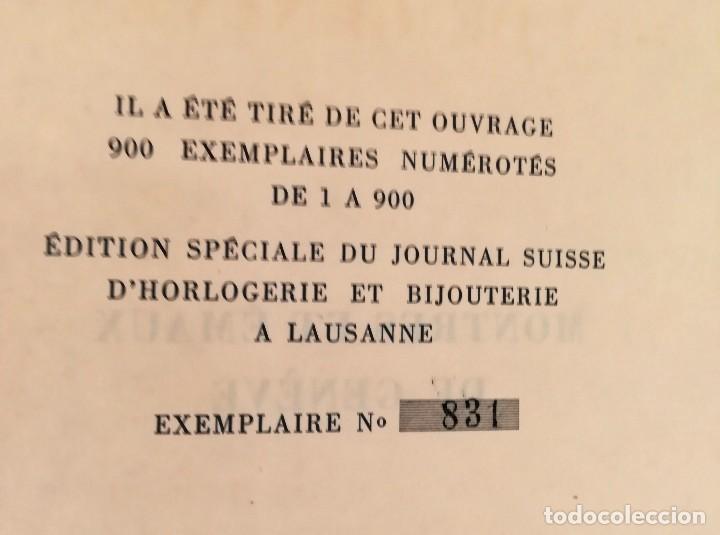 Herramientas de relojes: ROLEX,LIBRO COLECCION DE RELOJES DE BOLSILLO DE SU FUNDADOR HANS WILSDORF,1944,SOLO 900,RELOJ LUJO - Foto 3 - 99982547