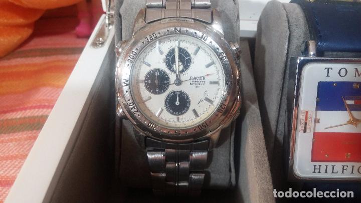 Herramientas de relojes: BOTITO ESTUCHE VITRINA BLANCO, PRECIOSO, IMPOLUTO, SE REGALAN LOS 5 RELOJES QUE CONTIENE - Foto 24 - 100473011