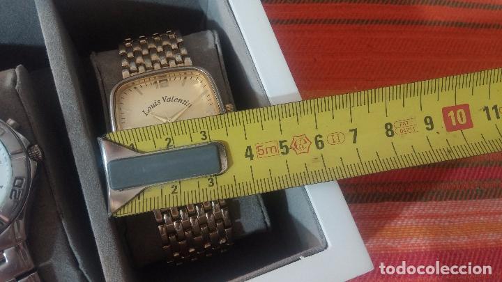 Herramientas de relojes: BOTITO ESTUCHE VITRINA BLANCO, PRECIOSO, IMPOLUTO, SE REGALAN LOS 5 RELOJES QUE CONTIENE - Foto 30 - 100473011