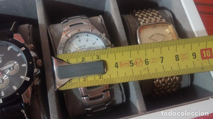 Herramientas de relojes: BOTITO ESTUCHE VITRINA BLANCO, PRECIOSO, IMPOLUTO, SE REGALAN LOS 5 RELOJES QUE CONTIENE - Foto 31 - 100473011