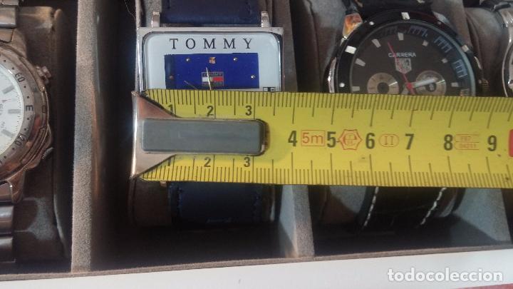 Herramientas de relojes: BOTITO ESTUCHE VITRINA BLANCO, PRECIOSO, IMPOLUTO, SE REGALAN LOS 5 RELOJES QUE CONTIENE - Foto 33 - 100473011