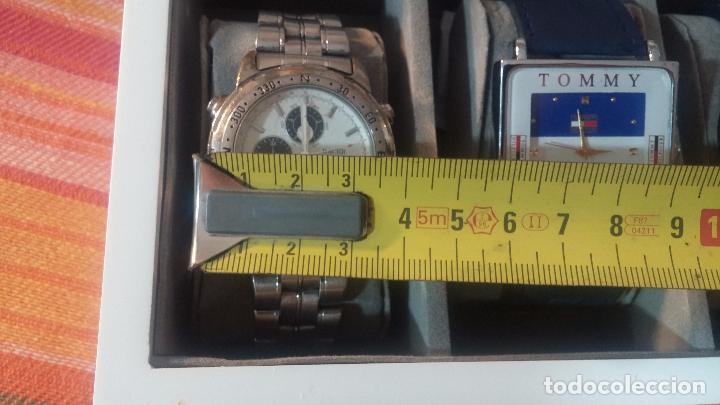 Herramientas de relojes: BOTITO ESTUCHE VITRINA BLANCO, PRECIOSO, IMPOLUTO, SE REGALAN LOS 5 RELOJES QUE CONTIENE - Foto 34 - 100473011