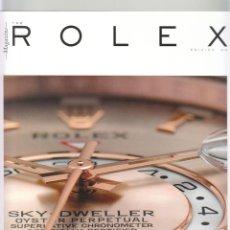 Herramientas de relojes: CATALOGO REVISTA RELOJES ROLEX. THE ROLEX MAGAZINE. ISSUE 03.. Lote 102614451