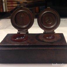 Herramientas de relojes: ANTIGUA ACEITERA PARA RELOJ, D.G.M. 19284. Lote 106907243