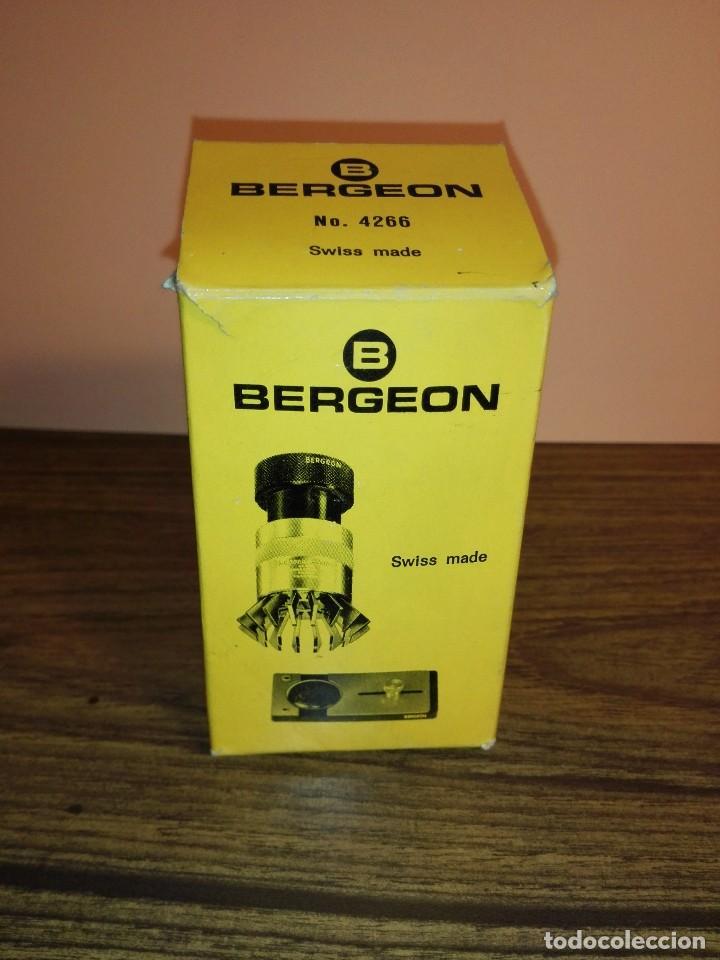 Herramientas de relojes: BERGEON Nº 4266 UTIL UNIVERSAL CRISTALES RELOJ - Foto 5 - 108334627