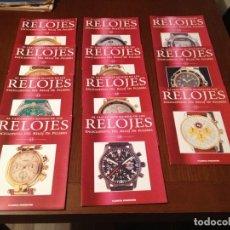 Herramientas de relojes: ENCICLOPEDIA DEL RELOJ DE PULSERA. 11 FASCICULOS Nº 42-43-44-45-46-47-48-49-50-51-52 . Lote 112832015