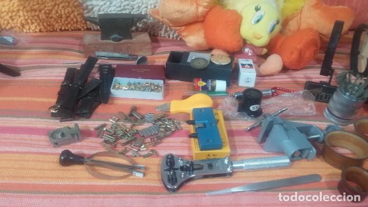 Herramientas de relojes: Botito baulito con herrajes o herramientas para reloj, relojes, relojero o relojeria - Foto 11 - 113429087