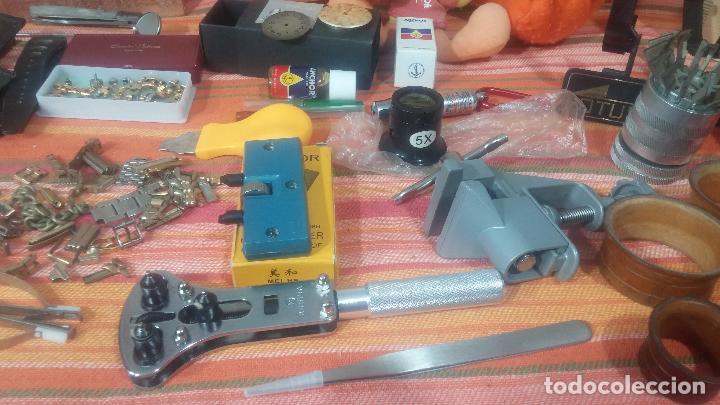 Herramientas de relojes: Botito baulito con herrajes o herramientas para reloj, relojes, relojero o relojeria - Foto 12 - 113429087