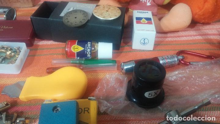 Herramientas de relojes: Botito baulito con herrajes o herramientas para reloj, relojes, relojero o relojeria - Foto 13 - 113429087