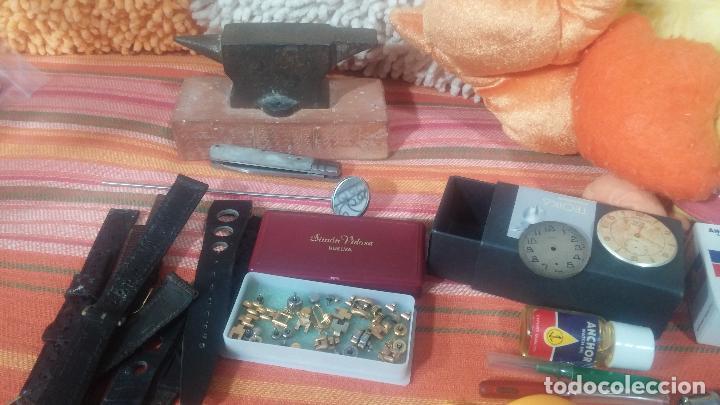 Herramientas de relojes: Botito baulito con herrajes o herramientas para reloj, relojes, relojero o relojeria - Foto 14 - 113429087