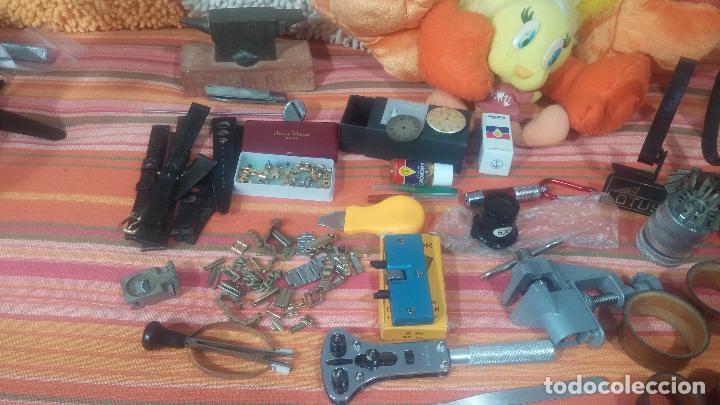 Herramientas de relojes: Botito baulito con herrajes o herramientas para reloj, relojes, relojero o relojeria - Foto 15 - 113429087