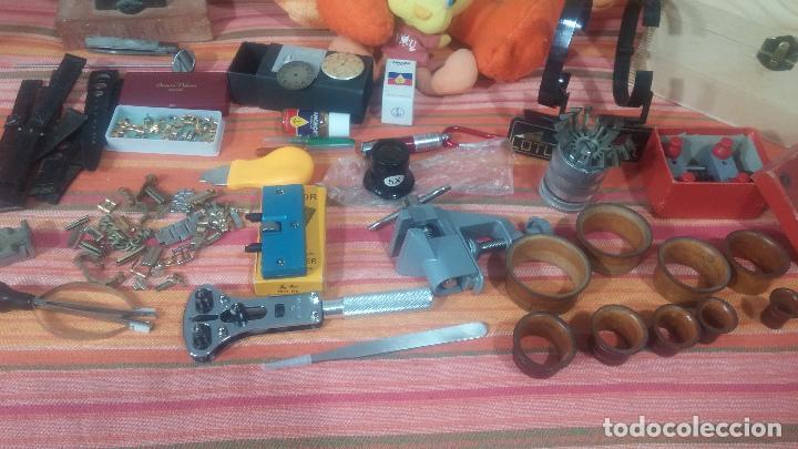 Herramientas de relojes: Botito baulito con herrajes o herramientas para reloj, relojes, relojero o relojeria - Foto 16 - 113429087