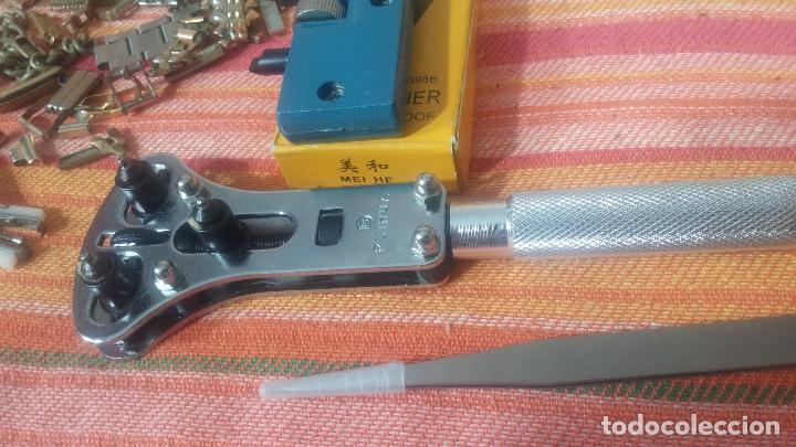 Herramientas de relojes: Botito baulito con herrajes o herramientas para reloj, relojes, relojero o relojeria - Foto 18 - 113429087
