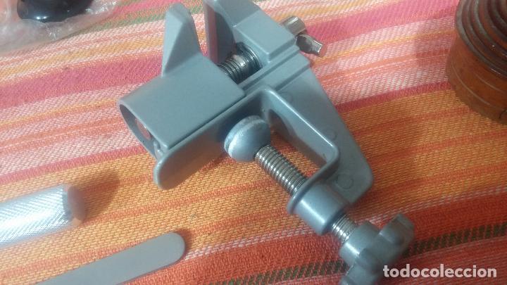 Herramientas de relojes: Botito baulito con herrajes o herramientas para reloj, relojes, relojero o relojeria - Foto 19 - 113429087