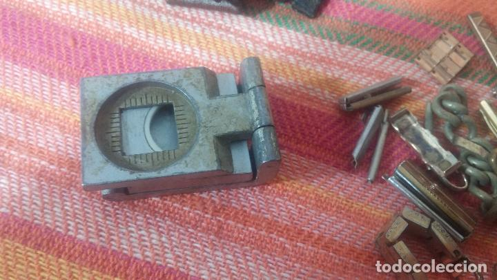 Herramientas de relojes: Botito baulito con herrajes o herramientas para reloj, relojes, relojero o relojeria - Foto 22 - 113429087