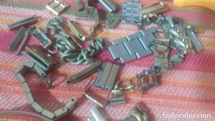 Herramientas de relojes: Botito baulito con herrajes o herramientas para reloj, relojes, relojero o relojeria - Foto 25 - 113429087