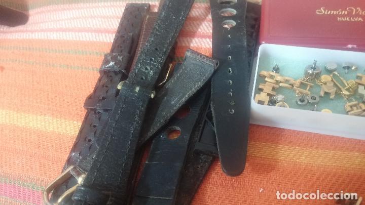 Herramientas de relojes: Botito baulito con herrajes o herramientas para reloj, relojes, relojero o relojeria - Foto 27 - 113429087