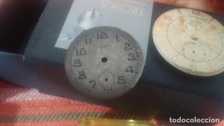 Herramientas de relojes: Botito baulito con herrajes o herramientas para reloj, relojes, relojero o relojeria - Foto 31 - 113429087