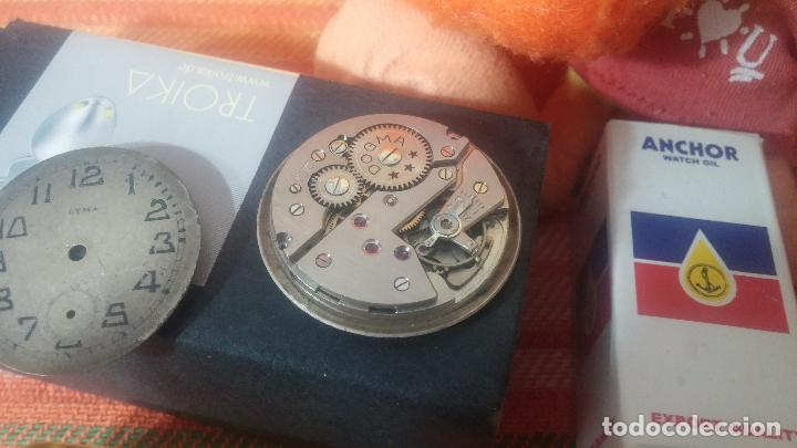 Herramientas de relojes: Botito baulito con herrajes o herramientas para reloj, relojes, relojero o relojeria - Foto 32 - 113429087