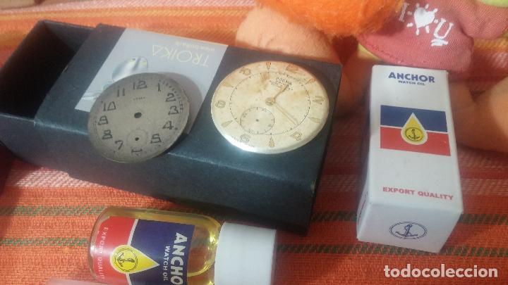 Herramientas de relojes: Botito baulito con herrajes o herramientas para reloj, relojes, relojero o relojeria - Foto 33 - 113429087