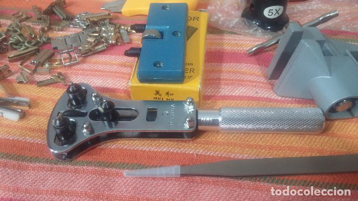 Herramientas de relojes: Botito baulito con herrajes o herramientas para reloj, relojes, relojero o relojeria - Foto 39 - 113429087