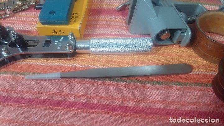 Herramientas de relojes: Botito baulito con herrajes o herramientas para reloj, relojes, relojero o relojeria - Foto 40 - 113429087
