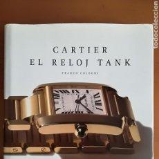Herramientas de relojes: CARTIER EL RELOJ TANK - FRANCO COLOGNI. Lote 114183748