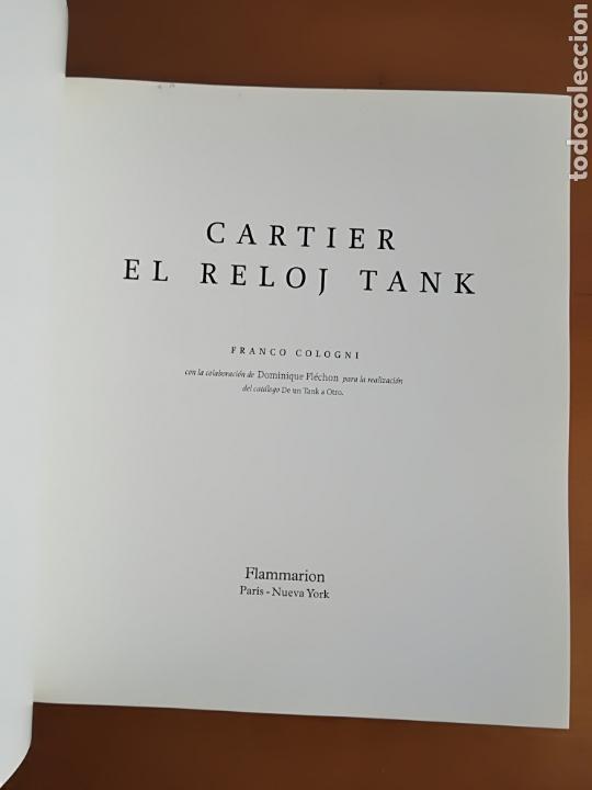 Herramientas de relojes: Cartier El reloj tank - Franco Cologni - Foto 7 - 114183748
