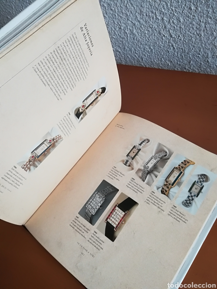 Herramientas de relojes: Cartier El reloj tank - Franco Cologni - Foto 39 - 114183748
