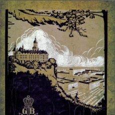 Herramientas de relojes: APUNTES DE CATÁLOGO GUSTAV BECKER 1924 140PAG.. Lote 114943023